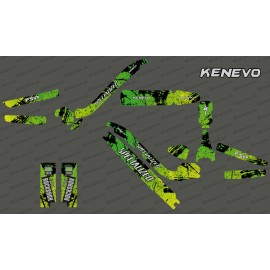 Kit déco Brush Edition Full (Vert) - Specialized Kenevo