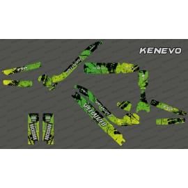 Kit deco de Carbono Edición Completa (Rojo) - Especializado Kenevo