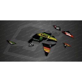 Kit décoration GP Black series - Yamaha MT07 Tracer