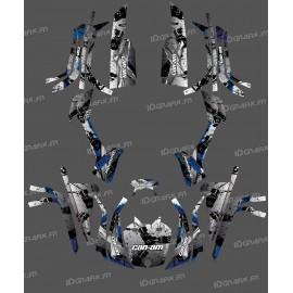 Kit décoration Full Brush (Gris) - IDgrafix - Can Am série L Outlander