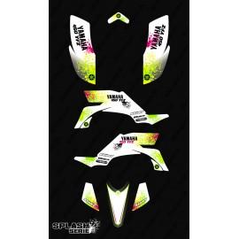 Kit decorazione Splash serie (Bianco) - IDgrafix - Yamaha YFZ 450