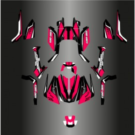 Kit décoration Wasp Full Edition (Rose) - IDgrafix - Can Am Outlander G2