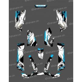 Kit Déco O Speed Bleu - Kymco 550 / 700 MXU