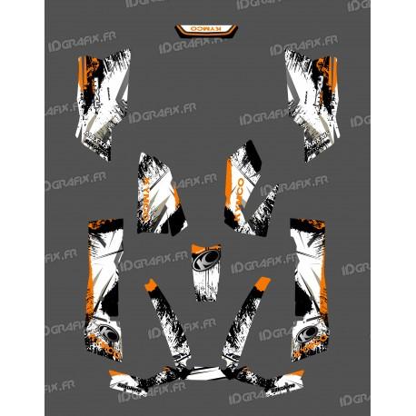 Kit Déco O Speed Orange - Kymco 550 / 700 MXU