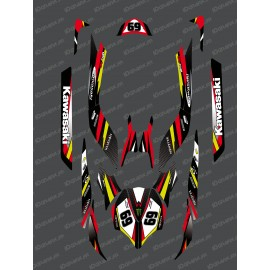 Kit decoration Factory Edition (Red) for Kawasaki Ultra 250/260/300/310R