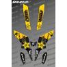 Kit Déco Rockstar Edition (Noir/Jaune) - Kymco 300 Maxxer