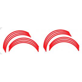 Sticker Liserets de Roues MT07/MT09 (Rouge)