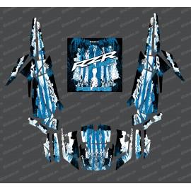 Kit dekor Drop-Edition (Blau)- IDgrafix - Polaris RZR 1000 Turbo