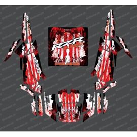 Kit de decoración de la Caída de Edición (Rojo)- IDgrafix - Polaris RZR 1000 Turbo