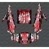 Kit decorazione Goccia Edizione (Rosso)- IDgrafix - Polaris RZR 1000 Turbo