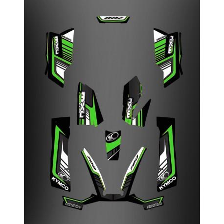Kit Déco 700exi Limited Vert - Kymco 700 MXU