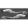 Kit décoration Réplica Factory (Noir/Blanc) pour Kawasaki SXR 800