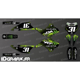 Kit décoration 100% Perso Monster - YCF 125 SP3