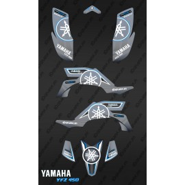 Kit d coration karbonik gris idgrafix yamaha yfz 450 for Decoration yamaha