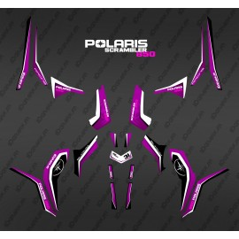 Kit décoration Pure Pink (Light) - IDgrafix - Polaris 1000 Scrambler