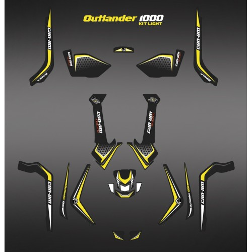 photo du kit décoration - Kit décoration Light X Limited Edition - IDgrafix - Can Am 1000 Outlander
