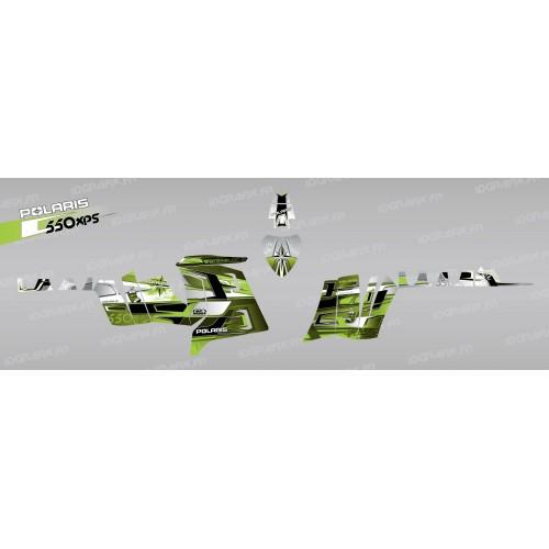 foto del kit, Kit de decoración para la decoración de Selecciones (Verde) - IDgrafix - Polaris 550 XPS
