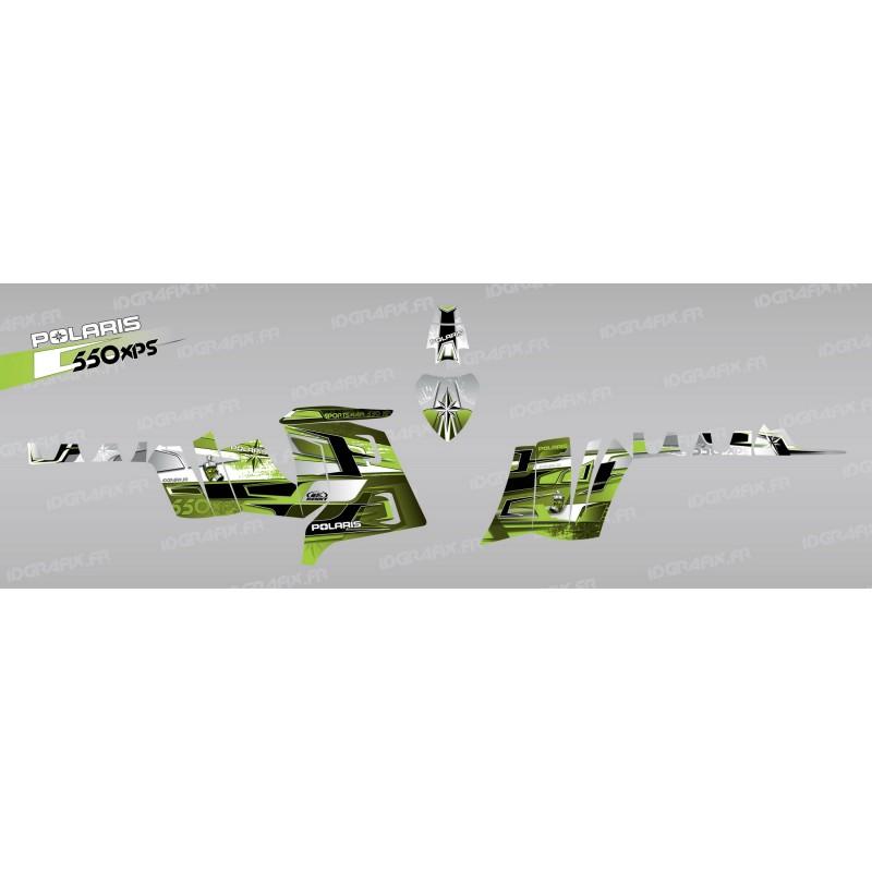photo du kit décoration - Kit décoration Pics (Vert) - IDgrafix - Polaris 550 XPS