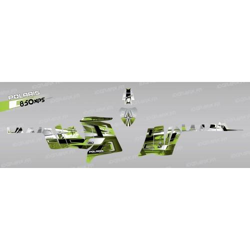 photo du kit décoration - Kit décoration Pics (Vert) - IDgrafix - Polaris 850 XPS