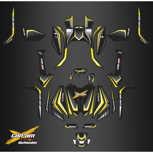 photo du kit décoration - Kit décoration Full X Limited Edition - IDgrafix - Can Am Outlander