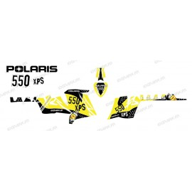 Kit décoration Street (Jaune) - IDgrafix - Polaris 550 XPS
