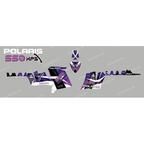 foto del kit, Kit de decoración de la decoración, el Espacio (Púrpura) - IDgrafix - Polaris 550 XPS