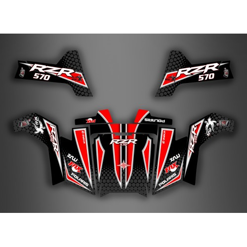 photo du kit décoration - Kit décoration Light Race Edition - IDgrafix - Polaris RZR 570