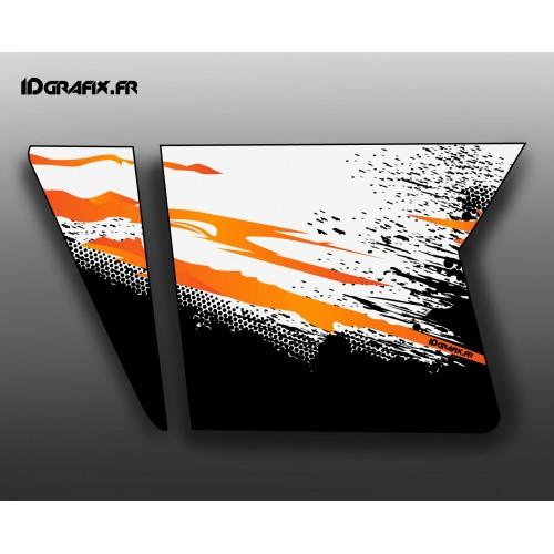 photo du kit décoration - Kit décoration Orange Porte XRW Suicide - IDgrafix - Polaris RZR