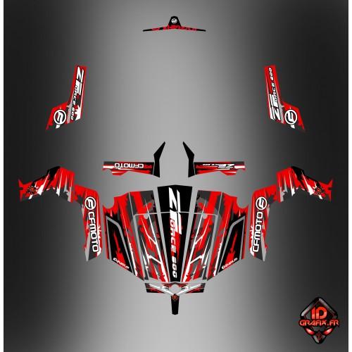 photo du kit décoration - Kit décoration LTD Edition - Idgrafix - CF Moto ZForce 800