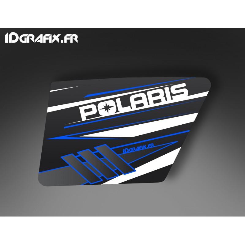 Kit d coration blue porte xrw normale idgrafix polaris for Porte normale