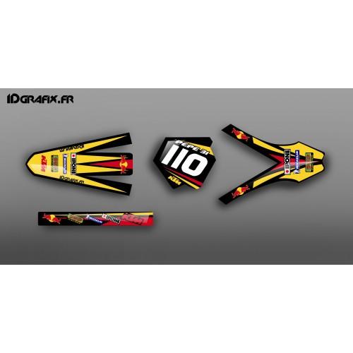 Kit déco 100 % Personnalisé pour KTM SX125
