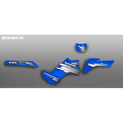 photo du kit décoration - Kit déco 100 % Perso pour Kawasaki KVF 650