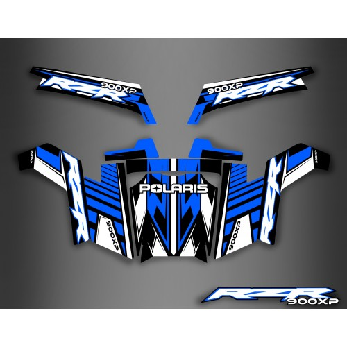 Kit décoration Light Blue Series - IDgrafix - Polaris RZR 900 XP