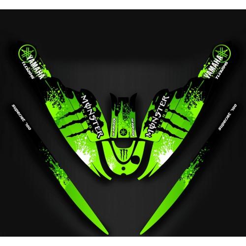 photo du kit décoration - Kit décoration 100% Perso pour Yamaha SuperJet 700