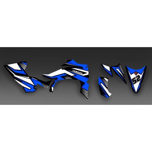 photo du kit décoration - Kit décoration Fury Bleu - IDgrafix - Yamaha YFZ 450 R