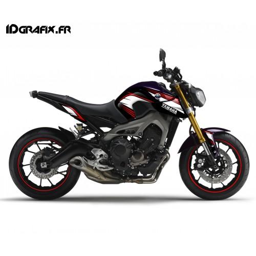 photo du kit décoration - Kit décoration Racing rouge - IDgrafix - Yamaha MT-09