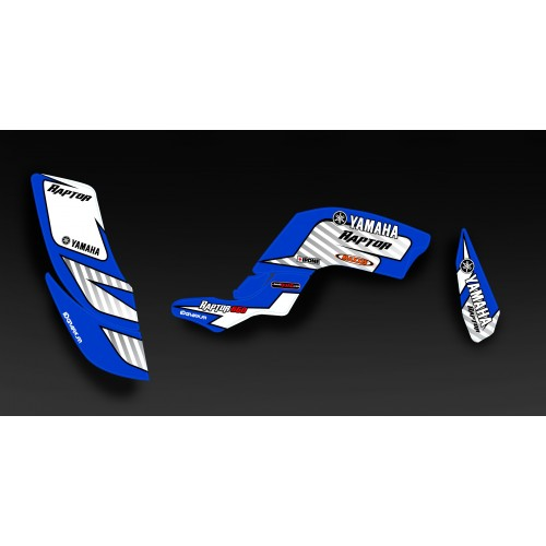 photo du kit décoration - Kit déco Perso pour YAMAHA Raptor 660 - M.PILLANT