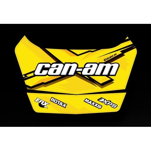 photo du kit décoration - Kit décoration X Team 1 Can Am 2014 - coffre origine BRP