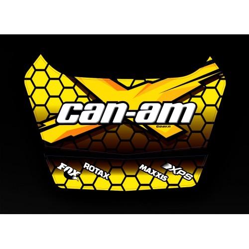 photo du kit décoration - Kit décoration X Team 2 Can Am 2014 - coffre origine BRP