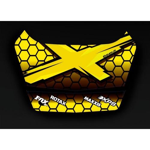 photo du kit décoration - Kit décoration X Team 3 Can Am 2014 - coffre origine BRP