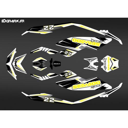 photo du kit décoration - Kit décoration 100% Perso pour Seadoo SPARK
