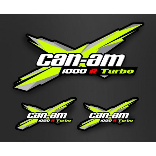 foto-kit deko - Kit dekor Türen + Dach - Xteam Can-Am - IDgrafix - Maverick Turbo