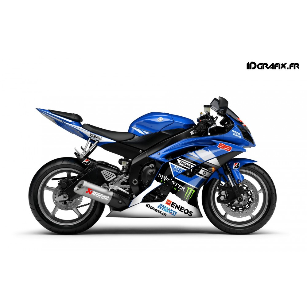 Kit deco yamaha r6 2007 for Decoration yamaha