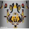 foto del kit, Kit de decoración de la decoración de la Hornet de la Serie Completa IDgrafix - Can Am Outlander (G2)