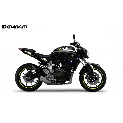 photo du kit décoration - Kit décoration LTD Jaune - IDgrafix - Yamaha MT-07