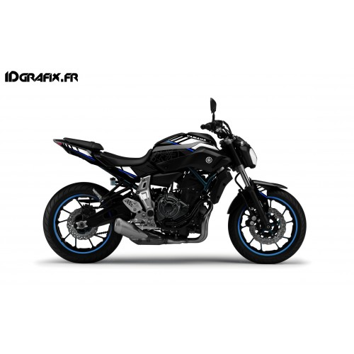 photo du kit décoration - Kit décoration LTD Bleu - IDgrafix - Yamaha MT-07