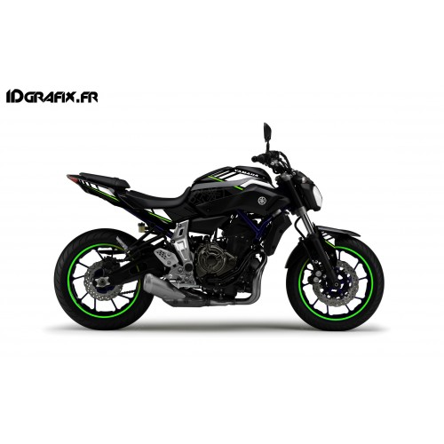 photo du kit décoration - Kit décoration LTD Vert - IDgrafix - Yamaha MT-07