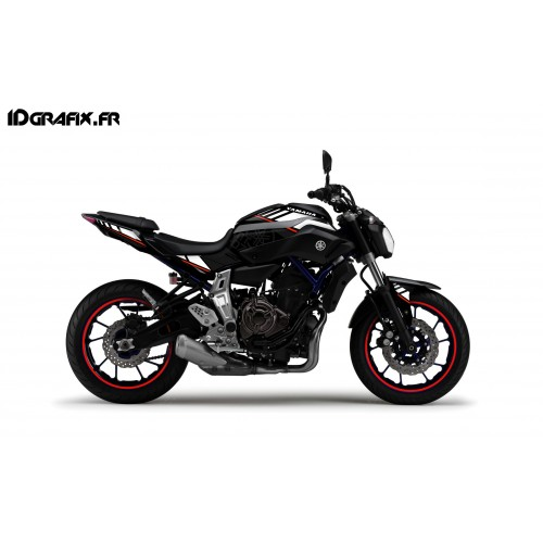 photo du kit décoration - Kit décoration LTD Rouge - IDgrafix - Yamaha MT-07
