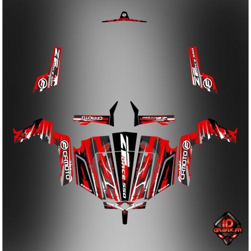 photo du kit décoration - Kit décoration LTD Edition - Idgrafix - CF Moto ZForce 550
