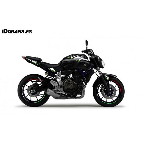 photo du kit décoration - Kit décoration LTD Italia - IDgrafix - Yamaha MT-07